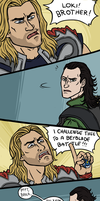 Thor: Let it Rip by sparkyHERO
