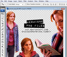 Hermione .PNG Pack by Sx2