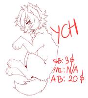 CLOSE AUCTION YCH :  Canine SB 3$/300pts by RenAyumeArts