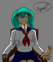 What are you doing?! .: Yandere Simulator :. by Gumsii