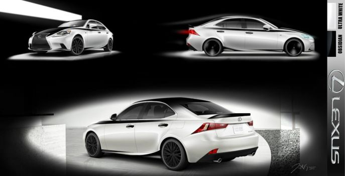 Lexus IS Competition Submission by ValenzDesigns
