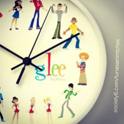 Glee Wall Clock by mikeysammiches