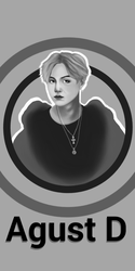 Agust D poster by Hopeful-Jerico