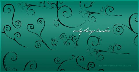 Curly Things Brushes by informaline