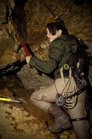 Rise of the Tomb Raider - let's get out of here! by TanyaCroft