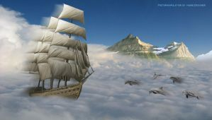 SeaOfClouds Photomanipulation by ivaneldeming
