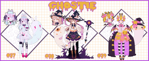 GHOSTIE AUCTION . CLOSED by CHARIKO
