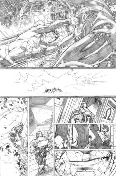 Justice League 23.1 Darkseid page 19 pencil by PauloSiqueira