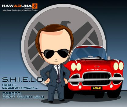 Phil Coulson - Agents of S.H.I.E.L.D. by Hawaruna