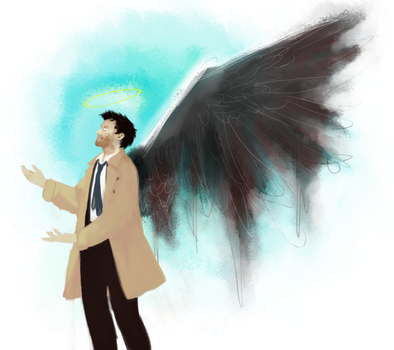 guess who loves castiel by pastelsneakers