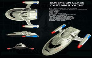 Sovereign class Captains yacht ortho - Cousteau by unusualsuspex