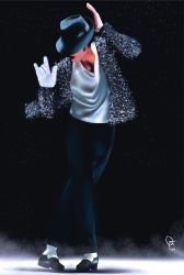 Michael Jackson - The King - Vector by frankwyte81