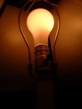 light bulb by Pestilential