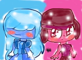 ruby and sapphire by pasword15703