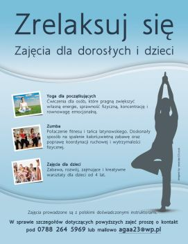 Relax - Yoga training by danjak