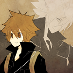 tsuna and giotto by tokoco