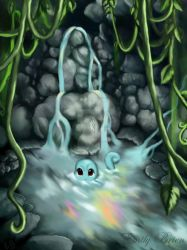Squirtle Spring by Emily-Draws-Things