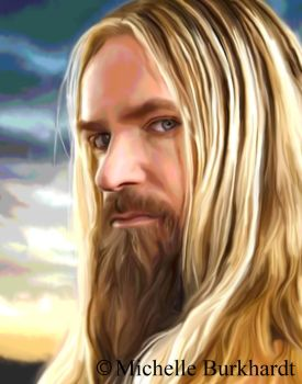 Zakk Wylde Digital Painting by Masharia