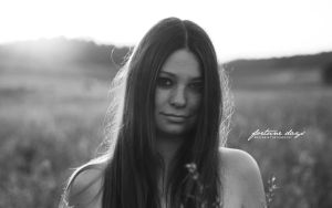 Summer Sadness bw by AngelxBaby
