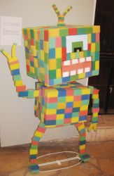 From the exhibition TOY CYCLE- Robo Cube by erez-mor