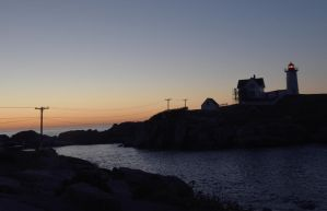At Sunrise, Nubble Light 2 by Miss-Tbones