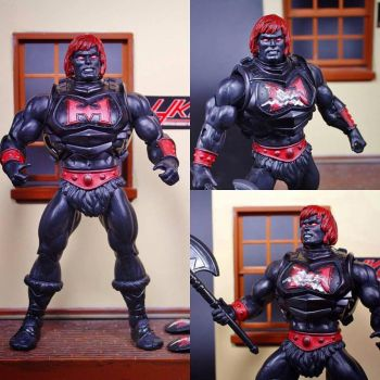 Anti Eternia He-Man Battle armor by hunterknightcustoms