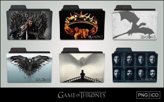 Game of Thrones (2011-) Folder Icons by OnlyStyleMatters
