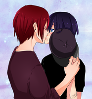 its not like the cap is even hiding anything rin by xpeppersnot