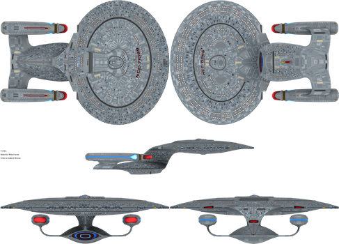 Galaxy Class Uprated by admiral-horton
