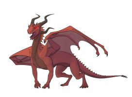 Red Dragon by MowenDesigns