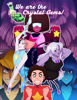 We are the Crystal Gems! by Dali-Puff