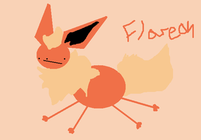 2 minute flareon by G-manluver