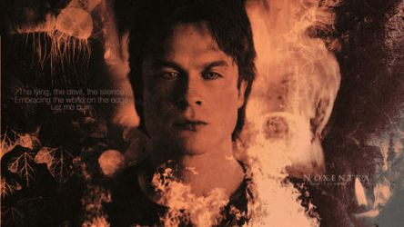 Damon Salvatore | Let Me Burn by N0xentra