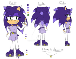 Character Reference - Kazumi Sophie Sterling by HedgeCatDragonix