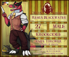CD: Remus Blackwater by Foxikel