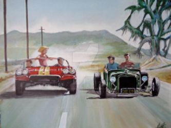 #HOTRODS TO HELL by Tony-Lewis-artwork