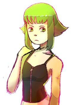 gumi sketch by garbagegobble