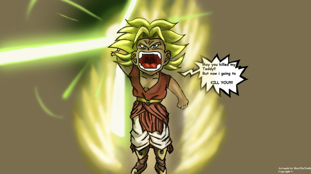 Kid Broly by ShynTheTruth