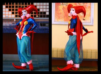 Harle, the Enigmatic Jester by NiGHTmaren-Cosplay