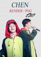 EXO - Chen // Render // Pack PNG by EXOEDITIONS