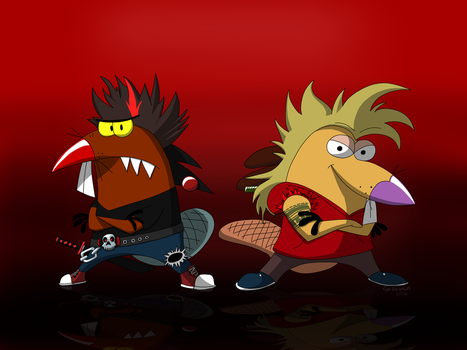 New World Angry Beaver Punx (2016) by PolarWildcatStudios