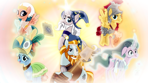 Legends of Magic Wallpaper by SailorTrekkie92