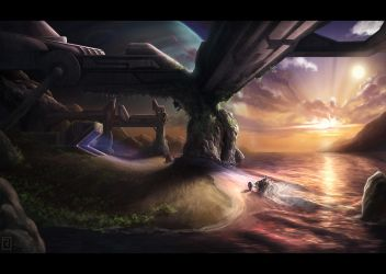 Farthest Outpost by Rahll