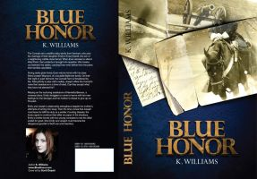 Blue Honor full Book Sleeve Blue 2nd edition by KWilliamsPhoto
