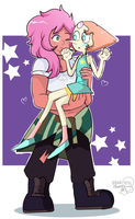 Pearl x Mystery Girl by Kell0x