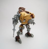 Steampunk mech by Rhymes-Shelter