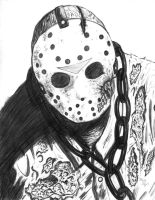 Friday the 13th part 7  Jason by DougSQ