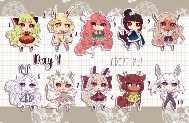 [CLOSED TY] Adoptable 1 Month Challenge - DAY 4 by Puripurr