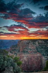 Grand Canyon Sunset by Audisportracer