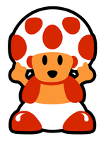 Toad is flippin you off by likelikes